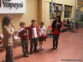 Premiacion del Spelling Bee 3