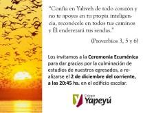 Ceremonia Ecumenica 2010