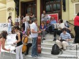 Protesta de la Orquesta Sinfonica 1