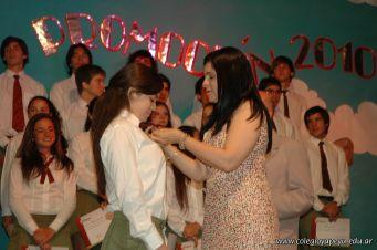 Acto de Colacion de la Promocion 2010 131