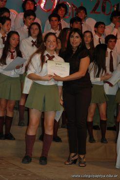 Acto de Colacion de la Promocion 2010 260