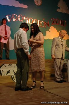 Acto de Colacion de la Promocion 2010 53