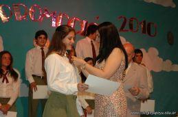 Acto de Colacion de la Promocion 2010 85