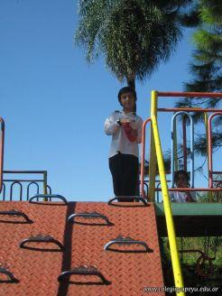 3er grado empezo el Campo Deportivo 109