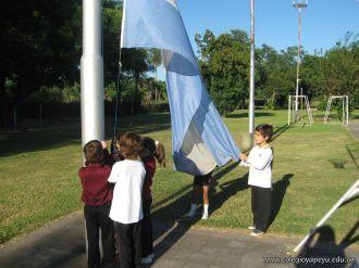 3er grado empezo el Campo Deportivo 12