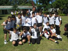 4to grado empezo el Campo Deportivo 3