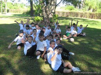 4to grado empezo el Campo Deportivo 38