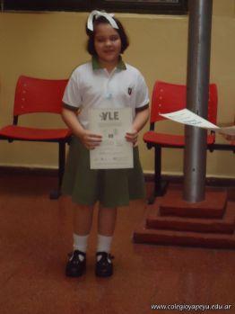Entrega Certificados YLE 2