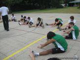 La Secundaria empezo el Campo Deportivo 124