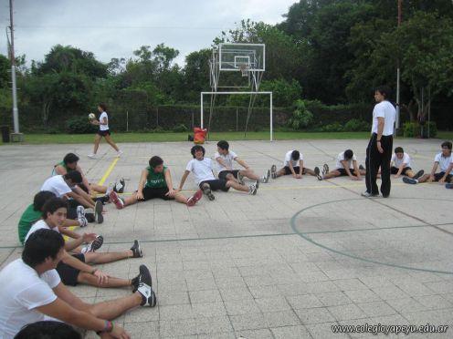 La Secundaria empezo el Campo Deportivo 125