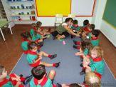Primera semana de clases del Jardin 119
