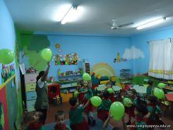 Primera semana de clases del Jardin 132