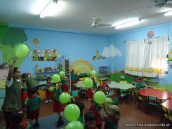 Primera semana de clases del Jardin 133