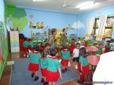 Primera semana de clases del Jardin 2