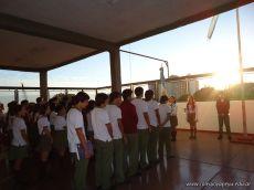 Acto de Secundaria por el Dia del Veterano y los Caidos de Malvinas 2