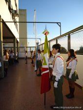 Acto de Secundaria por el Dia del Veterano y los Caidos de Malvinas 9