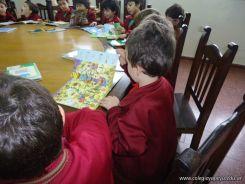 El Jardin leyendo en Biblioteca 10