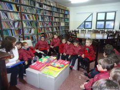 El Jardin leyendo en Biblioteca 33