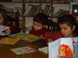 El Jardin leyendo en Biblioteca 36