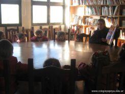 El Jardin leyendo en Biblioteca 49