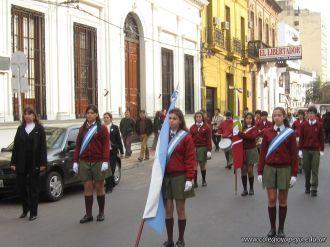 Desfile en Homenaje y Festejo de Cumple 111