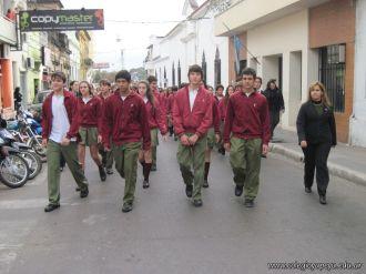 Desfile en Homenaje y Festejo de Cumple 122