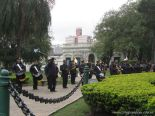 Desfile en Homenaje y Festejo de Cumple 159