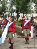 Desfile en Homenaje y Festejo de Cumple 185