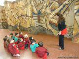 Salas de 3 y 4 visitaron el Mural 5