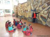 Salas de 3 y 4 visitaron el Mural 6