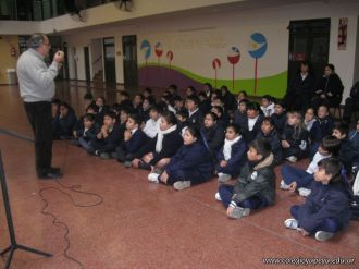 Visita de la Escuela Misericordia 102