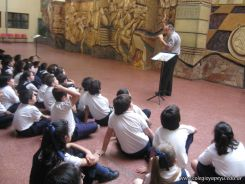 Visita de la Escuela Misericordia 76