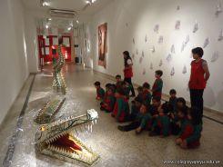 Salas de 3 visitaron la Muestra Karai Octubre 44