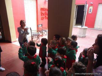 Salas de 3 visitaron la Muestra Karai Octubre 67