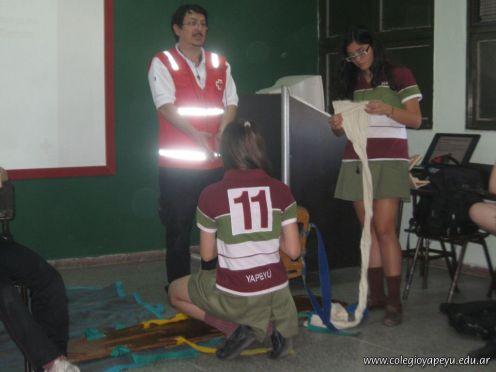 Ultima Clase de Primeros Auxilios 2011 78