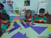Primer semana de clases en el Jardin 106