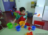 Primer semana de clases en el Jardin 118