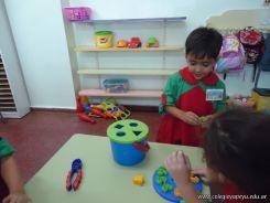 Primer semana de clases en el Jardin 123