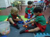 Primer semana de clases en el Jardin 125