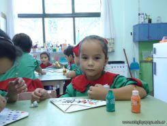 Primer semana de clases en el Jardin 155