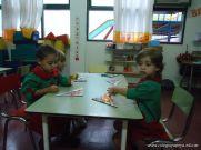 Primer semana de clases en el Jardin 185