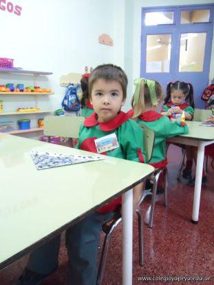 Primer semana de clases en el Jardin 186