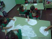 Primer semana de clases en el Jardin 195