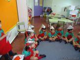 Primer semana de clases en el Jardin 224