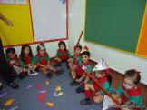 Primer semana de clases en el Jardin 227