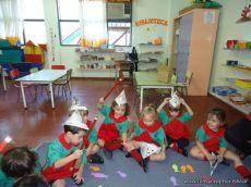 Primer semana de clases en el Jardin 235