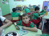 Primer semana de clases en el Jardin 35