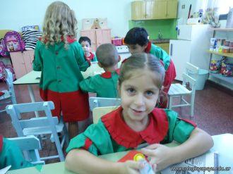 Primer semana de clases en el Jardin 61