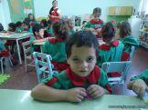 Primer semana de clases en el Jardin 70
