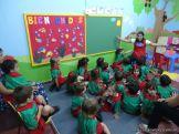 Primer semana de clases en el Jardin 81